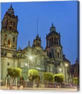The Historical Mexico City Metropolitan Cathedral Canvas Print