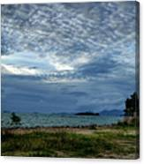 The Hole In The Sky Canvas Print