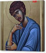 The Holy Apostle And Evangelist John The Theologian Canvas Print