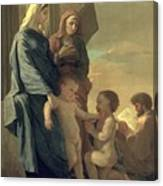 The Holy Family Canvas Print
