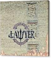 The Honest Lawyer Canvas Print
