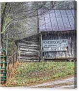 The Honeymoon Lodge Canvas Print