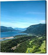 The Hood River  Canvas Print