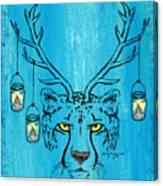 The Horned Cheetah Canvas Print