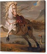The Horse And The Snake Canvas Print