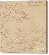 The Horse Shoe On The Shanandoa (sic), Virginia Canvas Print