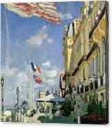The Hotel Des Roches Noires At Trouville Canvas Print