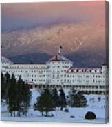 The Hotel Canvas Print