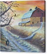 The Hott Ranch Canvas Print