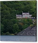 The House By The Llyn Peris Canvas Print