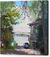 The House By The River Canvas Print