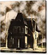 The House From Psycho Canvas Print