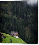 The House On The Hill Canvas Print