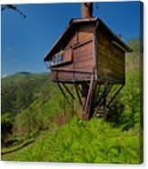The House On The Tree - La Casa Sull'albero Canvas Print