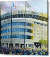 The House That Steinbrenner Wrecked Opening Day  Canvas Print