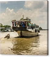 The Houseboat Canvas Print