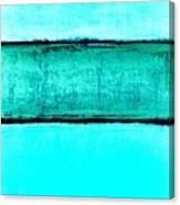 The Hues Blues Canvas Print