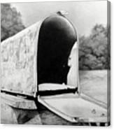 The Humble Mailbox Canvas Print