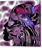The Hummingbird Mystic. Canvas Print