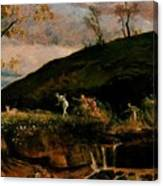 The Hunt Of Diana 1896 Canvas Print