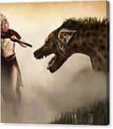 The Hyaenodons - Allie's Battle Canvas Print