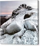 The Ice Queen Returns, North Tor Slieve Bearnagh Canvas Print