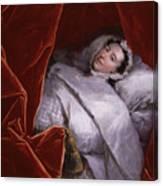 The Illness Of Actress Peg Woffington Canvas Print