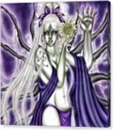 The Illumination Of Asteria Nyx Canvas Print