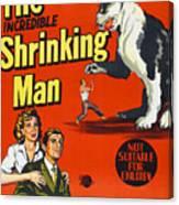 The Incredible Shrinking Man, Bottom Canvas Print