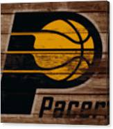 The Indiana Pacers 3b Canvas Print