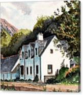 The Inn Scotland Canvas Print