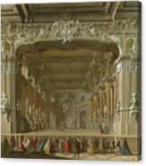 The Interior Of A Theatre Canvas Print