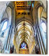 The Interior Of The Southwark Cathedral  Canvas Print