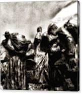The Irish Exodus Canvas Print