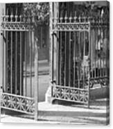 The Iron Gates Canvas Print