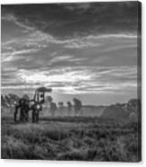 The Iron Horse A New Dawn 7 Canvas Print