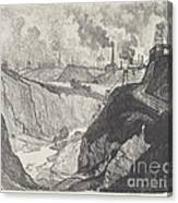 The Iron Mine Canvas Print