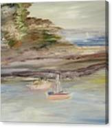 The Island Cove Canvas Print
