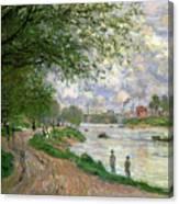The Island Of La Grande Jatte Canvas Print