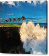 The Jack Nicklaus Signature Hualalai Golf Course Canvas Print