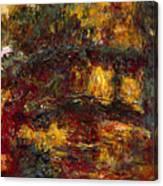 The Japanese Footbridge - Giverny Canvas Print