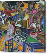 The Jazz Orchestra Canvas Print