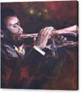 The Jazz Player Canvas Print