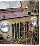 The Jeepster Canvas Print