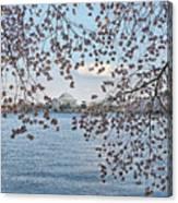Jefferson Memorial # 5 Canvas Print