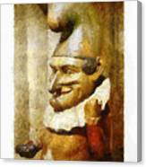 The Jester Canvas Print