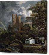 The Jewish Cemetery Canvas Print