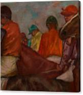 The Jockeys Canvas Print
