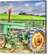 The John Deere Tractor Canvas Print