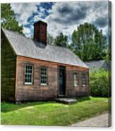 The John Wells House In Wells Maine Canvas Print